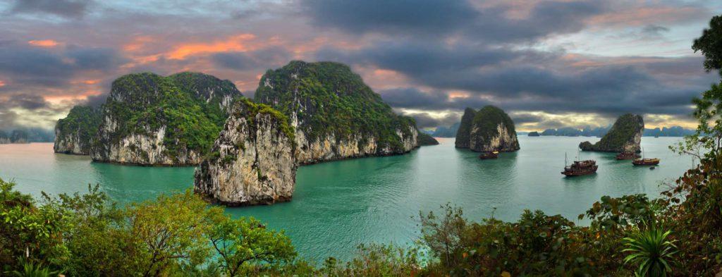 Azië, het land van de ondergaande zon