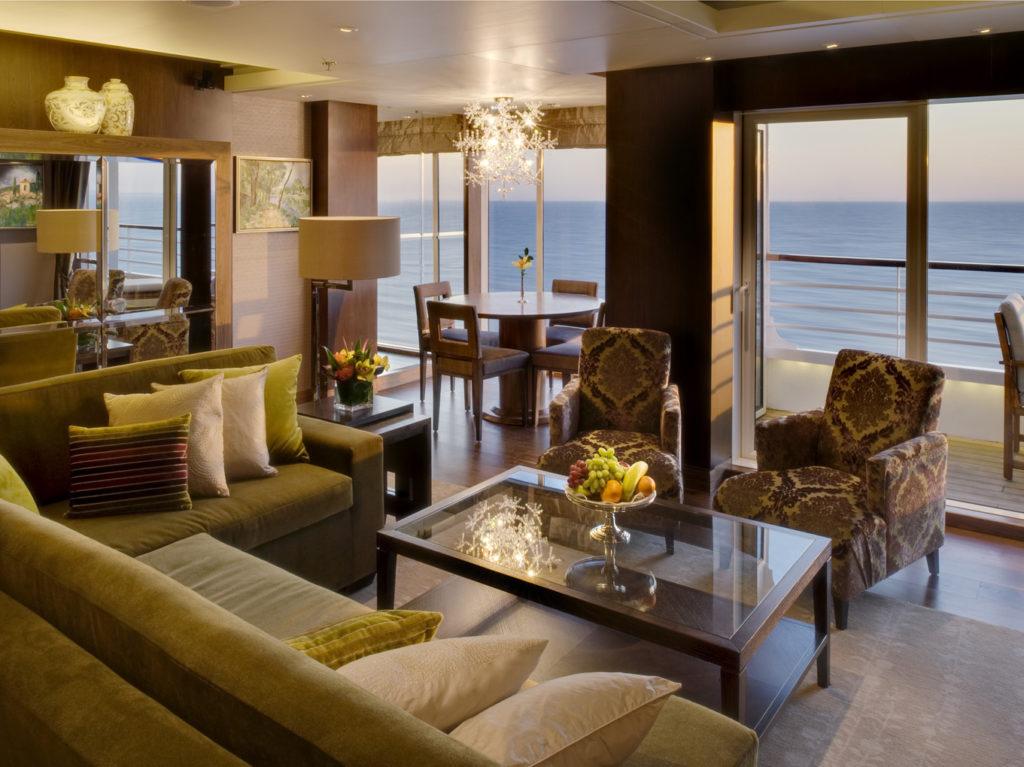 Crystal Cruises - Penthouse - Luxe- Cruises I Cruisemarkt