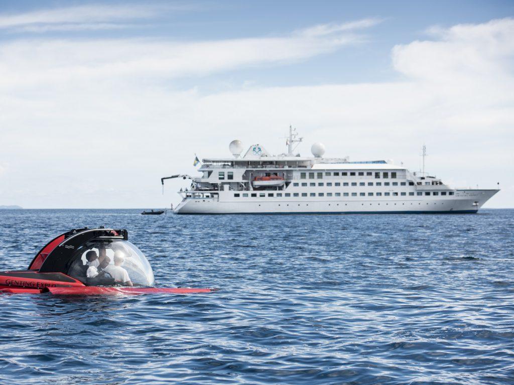 Crystal Cruises - Esprit - YachtSubmarine - Luxe cruise I Cruisemarkt 1280 x 1024