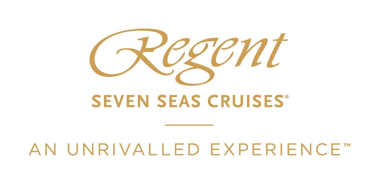 logo regent seven seas in goud