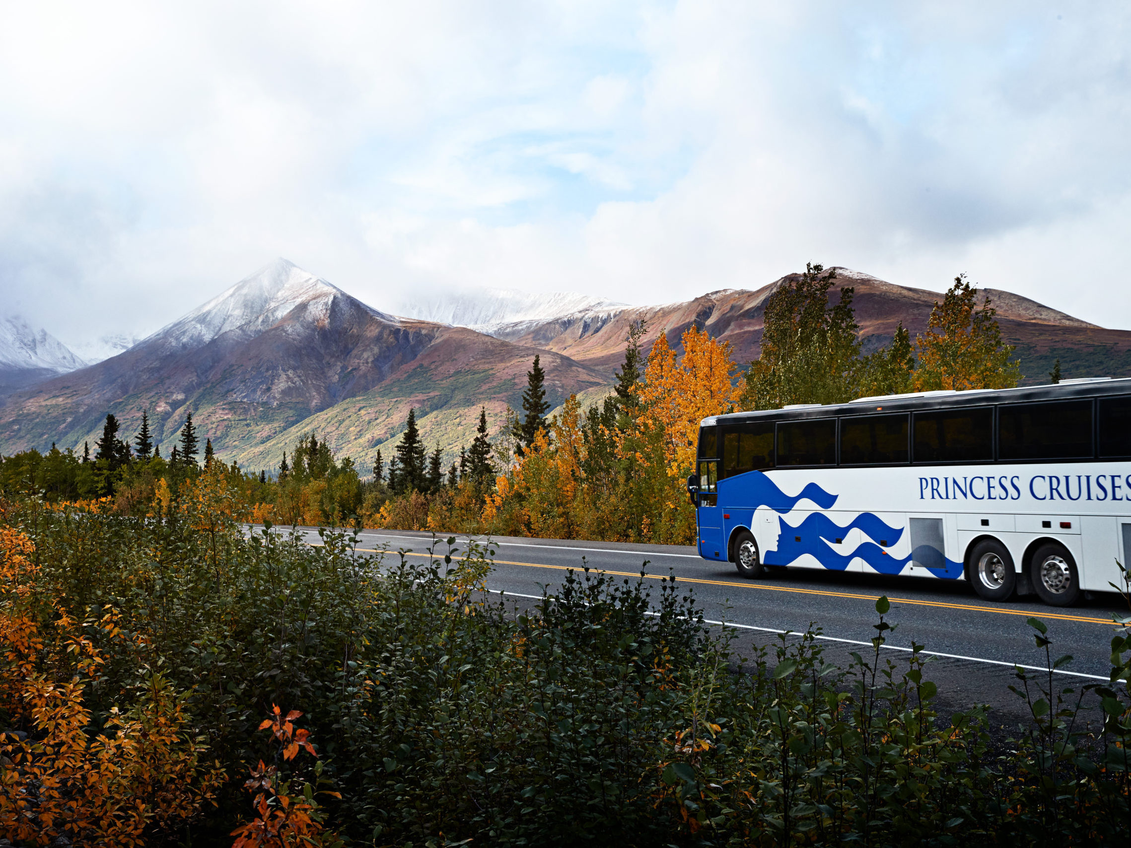 Princess Cruises - Alaska - Bus