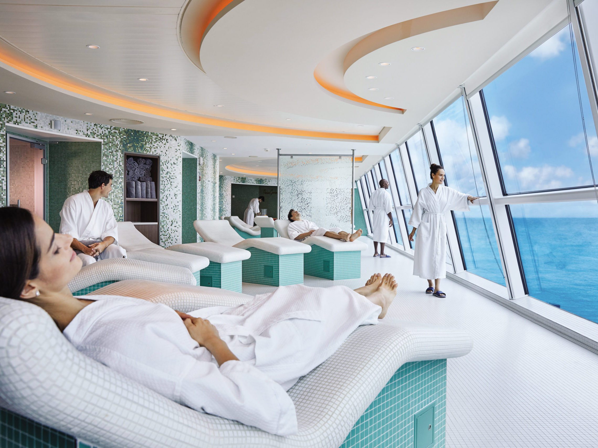 Celebrity Reflection de Spa - relax