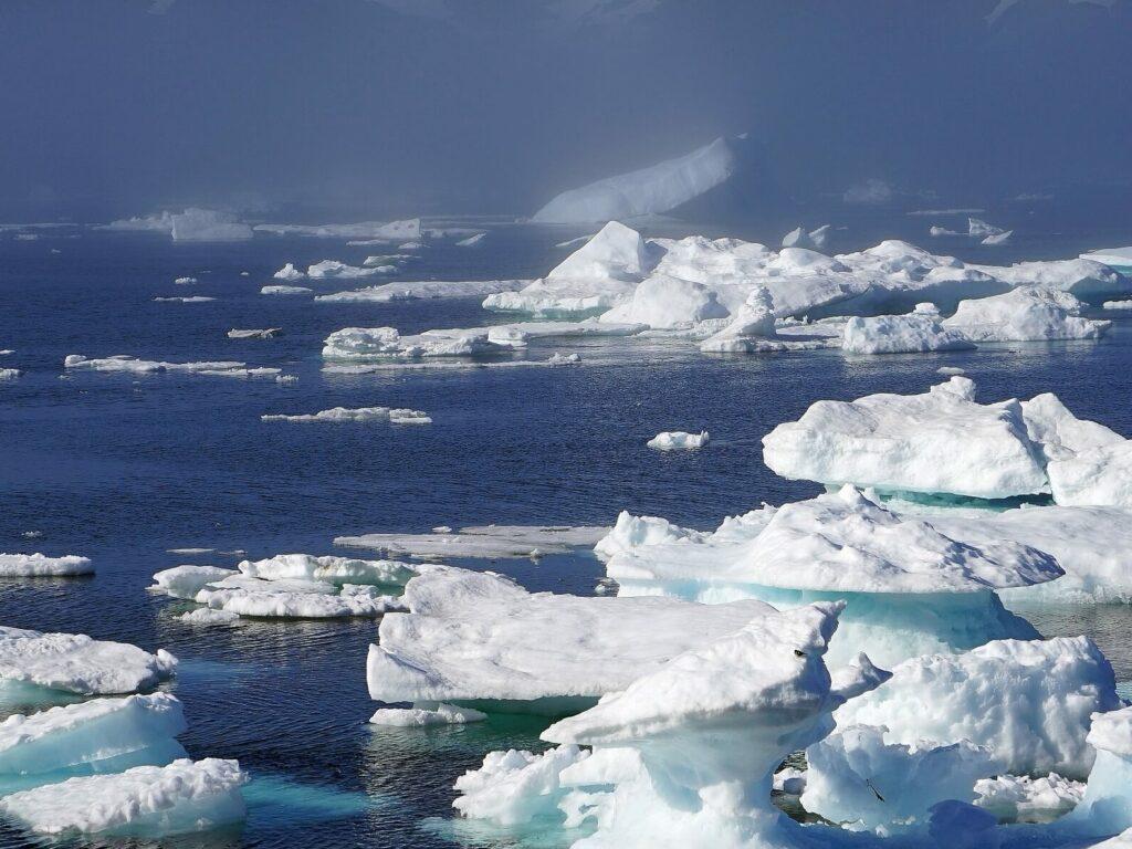 Groenland ijsbergen