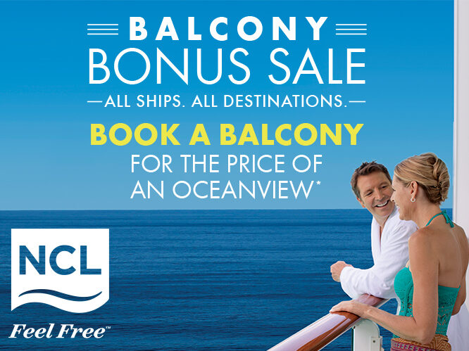 Norwegian Cruise Line balkon upgrade