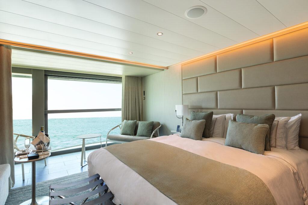 Varanda suite aan boord van Silver Origin