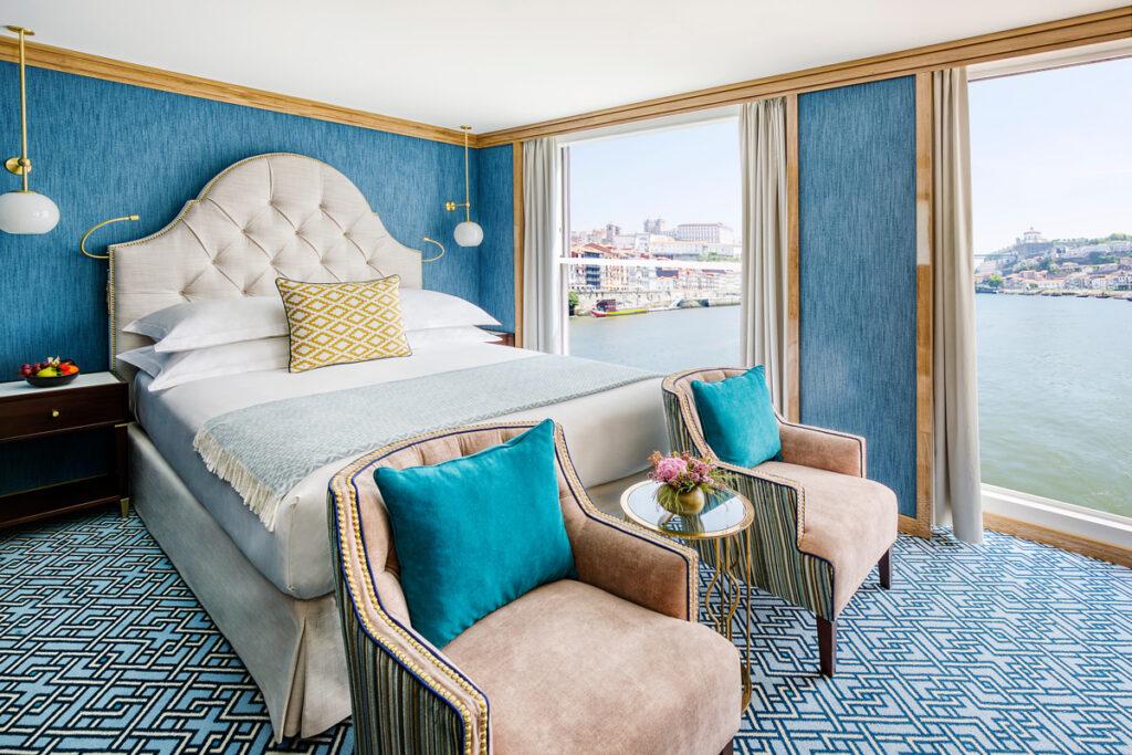 Uniworld rivier cruises Suite
